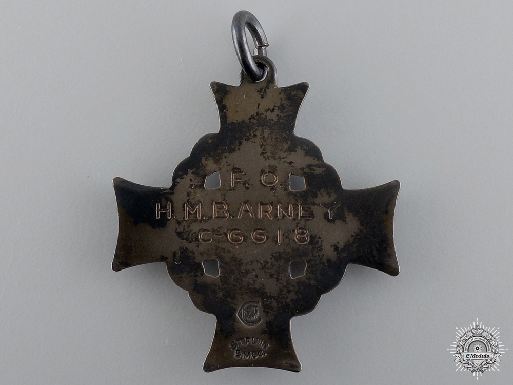 An RCAF Memorial Cross; Found by Fisherman in Trinity Bay