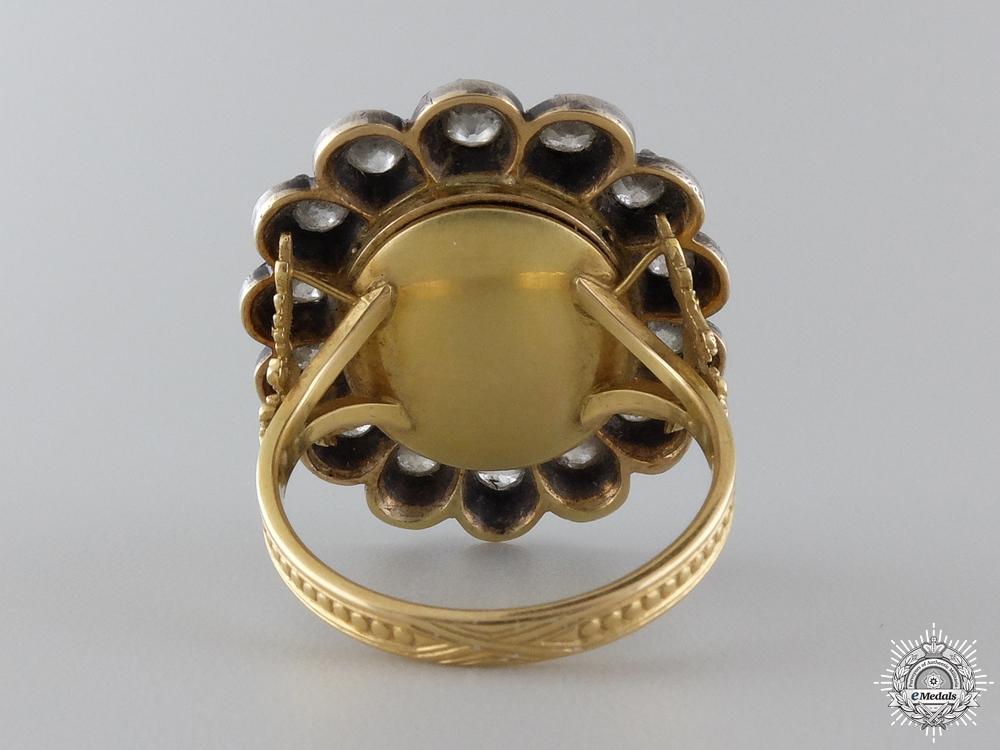 A Superb Gift of Emperor Franz Joseph in Gold & Diamonds