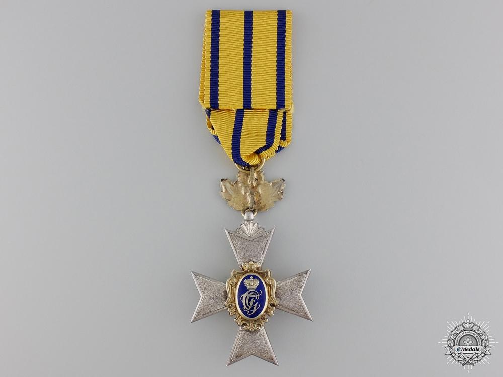 A 1914-15 Princely War Honour Cross of Schwarzburg Rudolstadt; 3rd Class