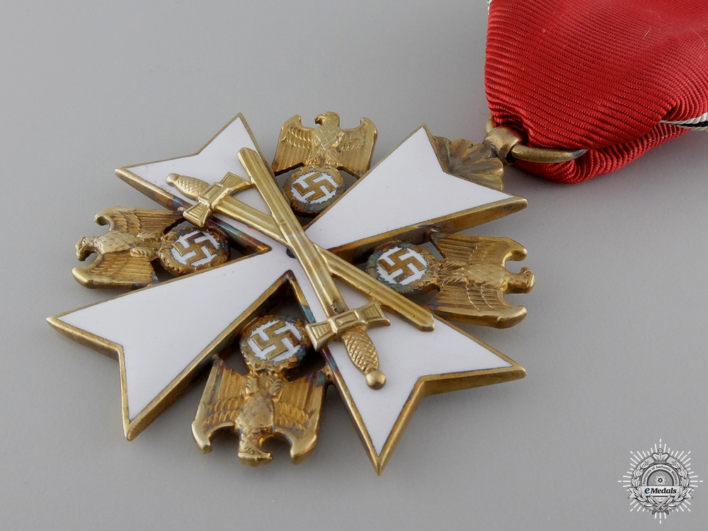 A German Eagle Order by Zimmermann ; Third Class