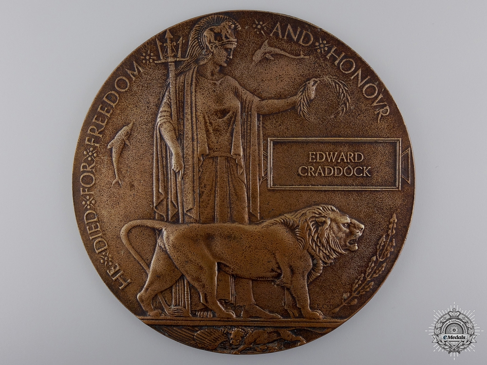 A Canadian Military Medal & Canal du Nord Casualty Grouping