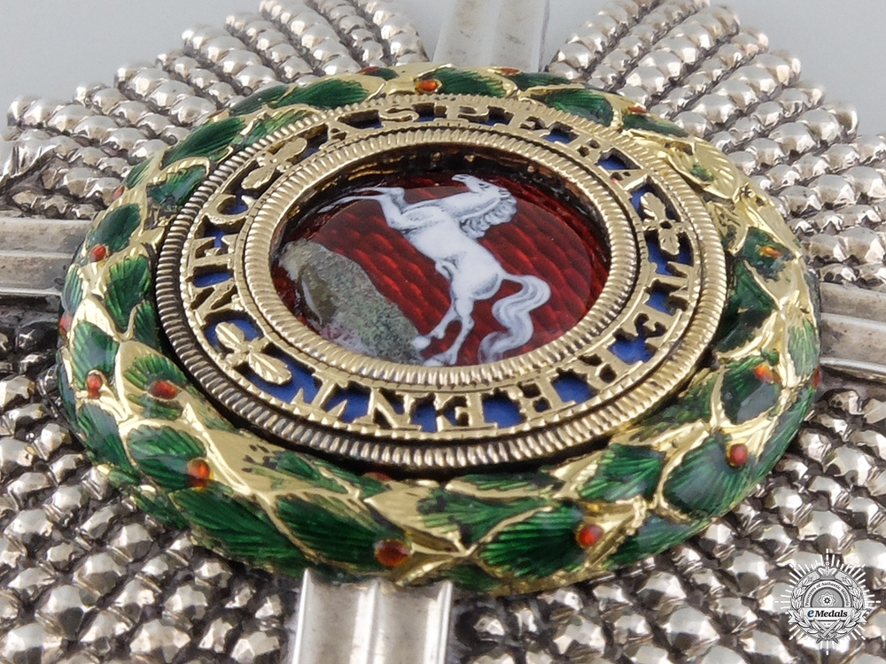A Superb Royal Guelphic Order, K.C.H. Military Knight Commander