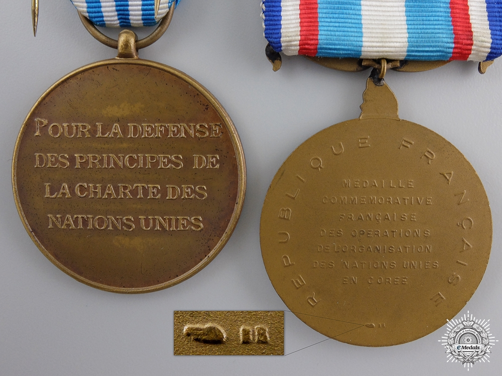 A French Asian Theatre Gallantry Medal Bar