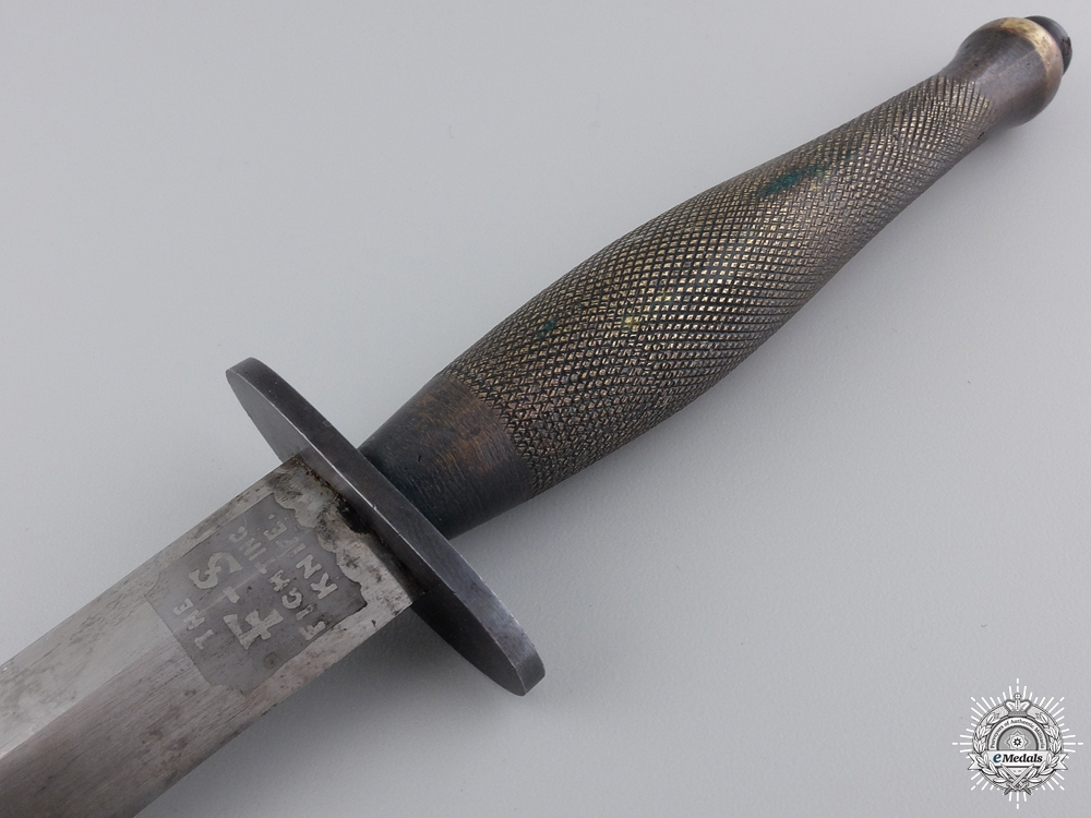 A Second War Fairbairn Sykes Fighting Knife