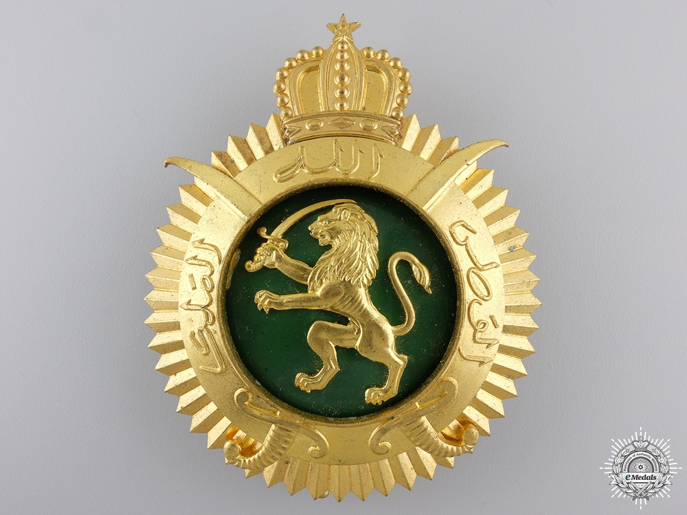 A 1976 Moroccan Order of Military Merit; Grand Cordon