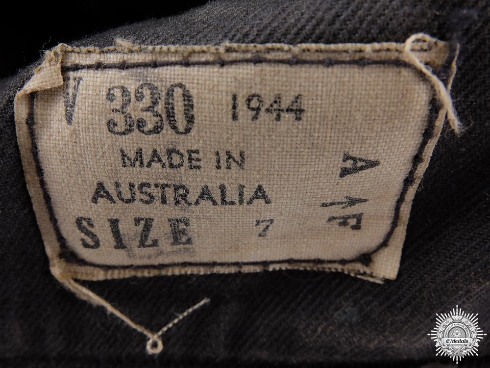 A Second War Royal Australian Air Force (RAAF) Side Cap
