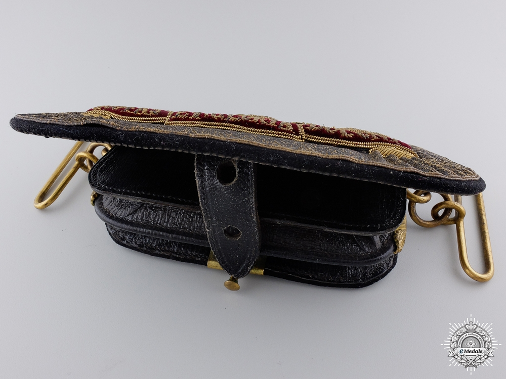 A Victorian Royal Artillery Officer's Dress Pouch