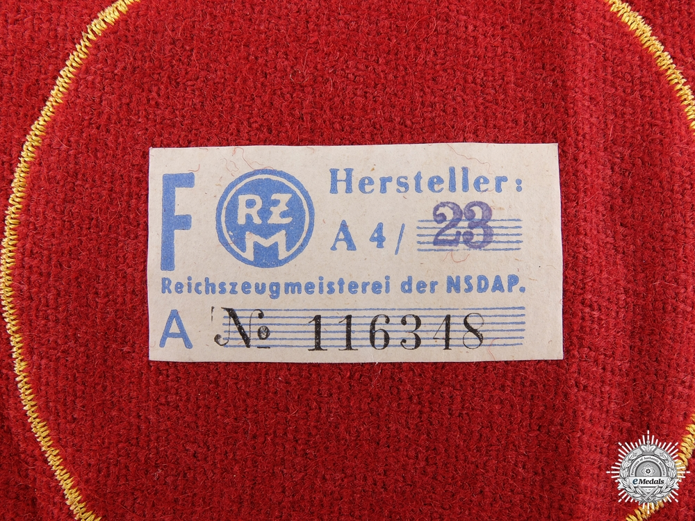 A Reich Level Leiter Eines Hauptamtes Armband with RZM Tag