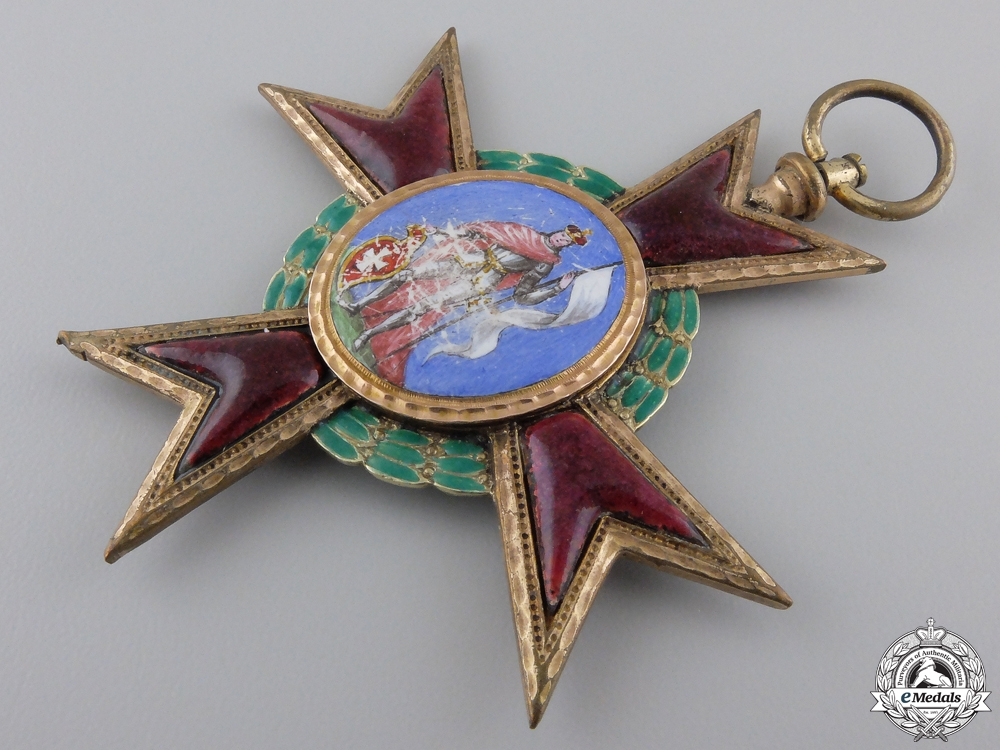 A Habsburg Capitel Cross of Kremsier