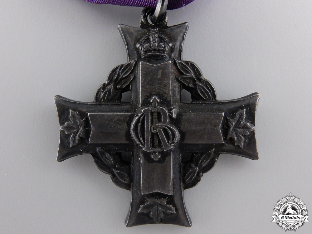 A Rare Canadian Memorial Cross to HMCS Louisburg Casualty