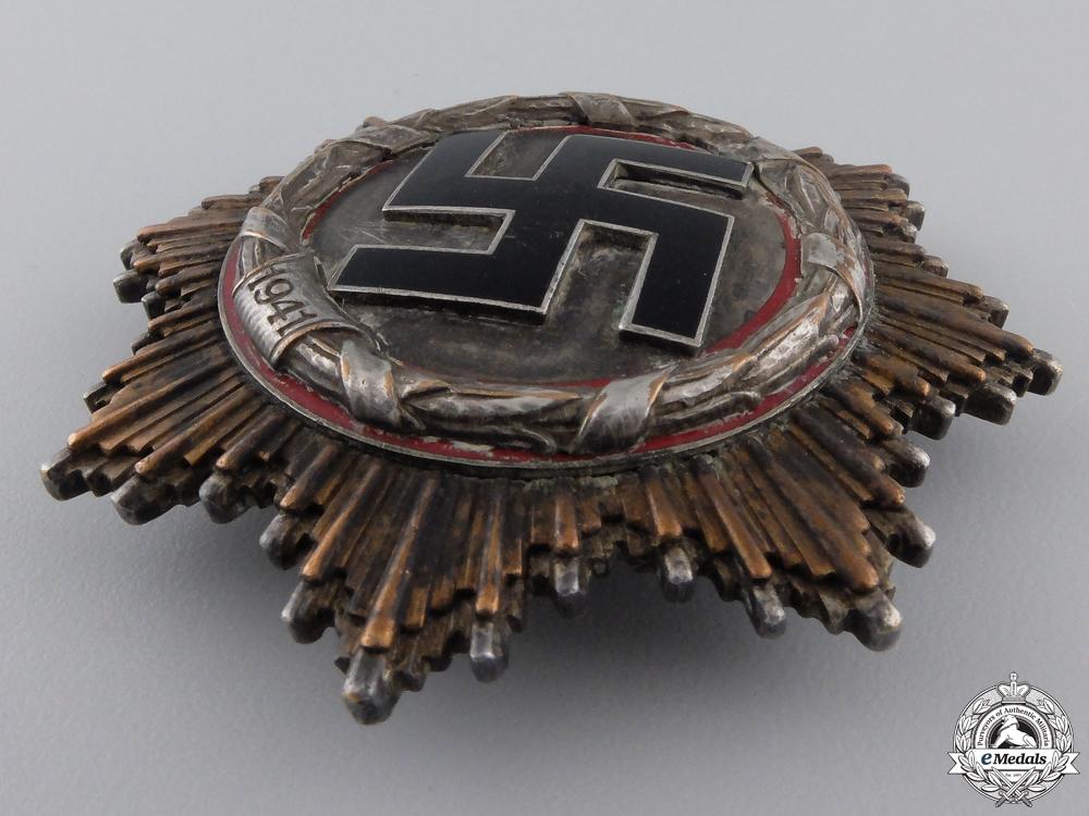 A German Cross in Silver by Deschler & Sohn