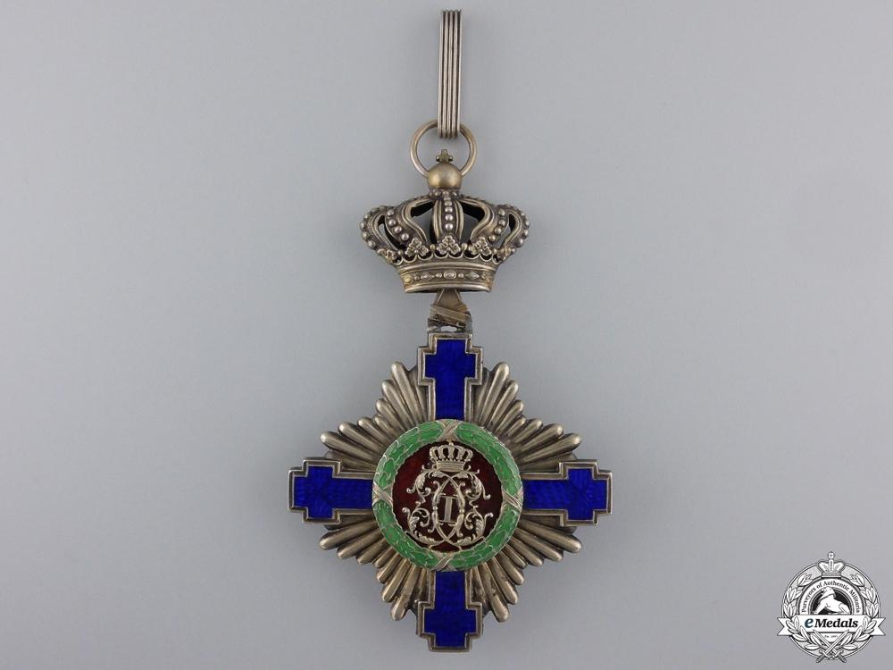 A First War Romanian Order of the Star;  Commander's Cross