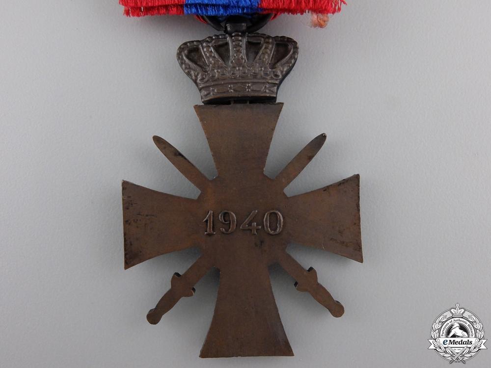 A Greek War Cross 1940; 3rd Class with Box