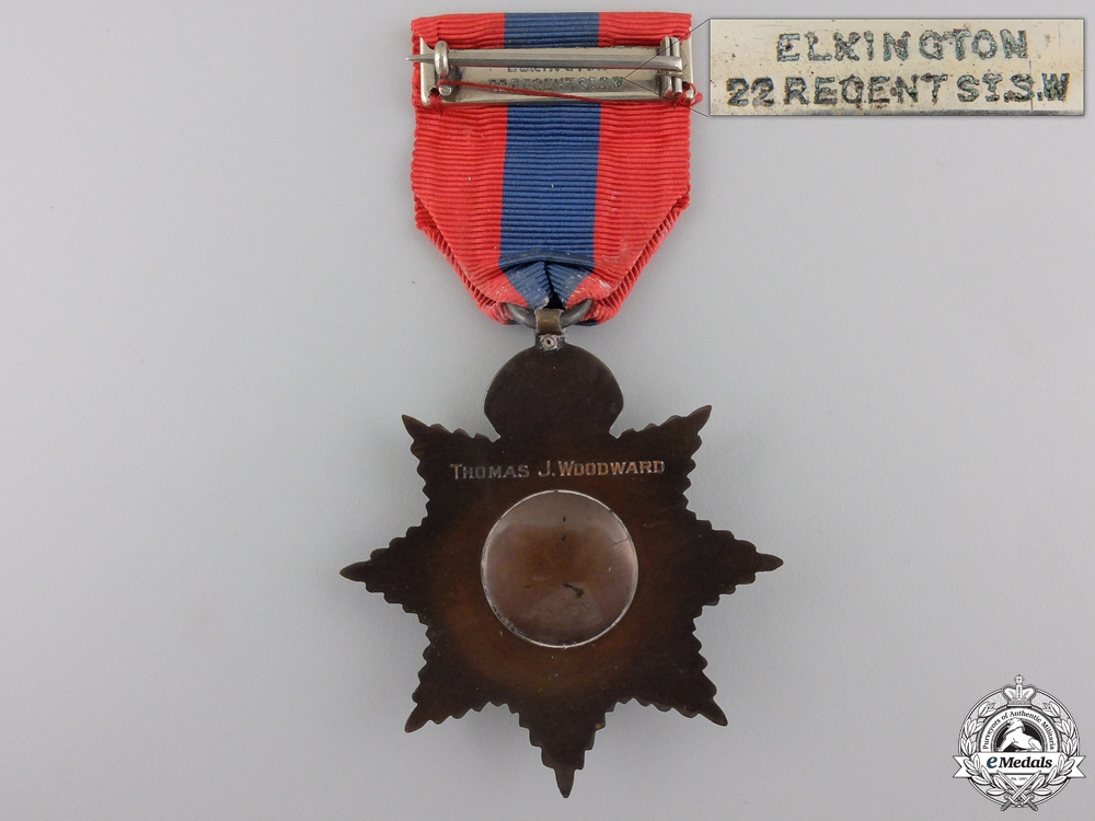 An Imperial Service Medal to Thomas. J.Woodward