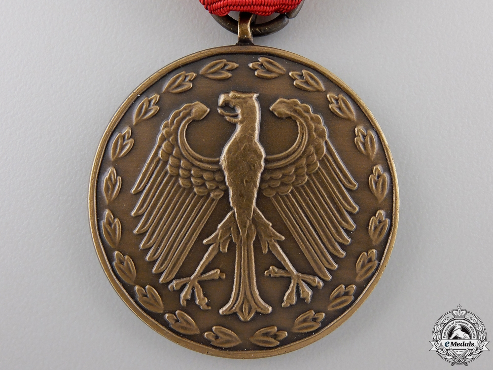 A German Federal Republic Armed Forces Deployment Medal