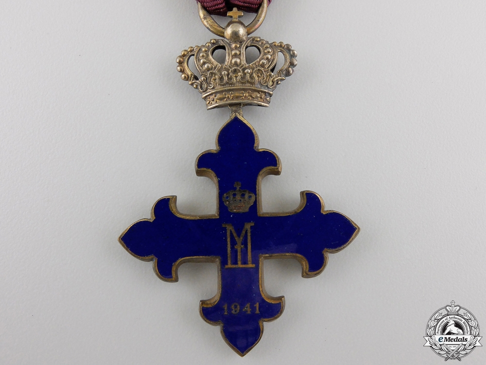 A Romanian Order of Michael the Brave; Knight's Cross with Case