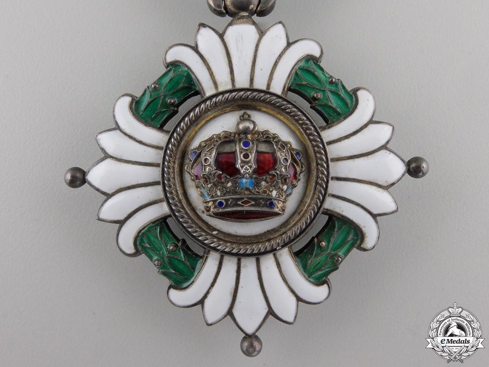 Yugoslavia, Kingdom. An Order of the Crown, 3rd Class Commander, c.1935