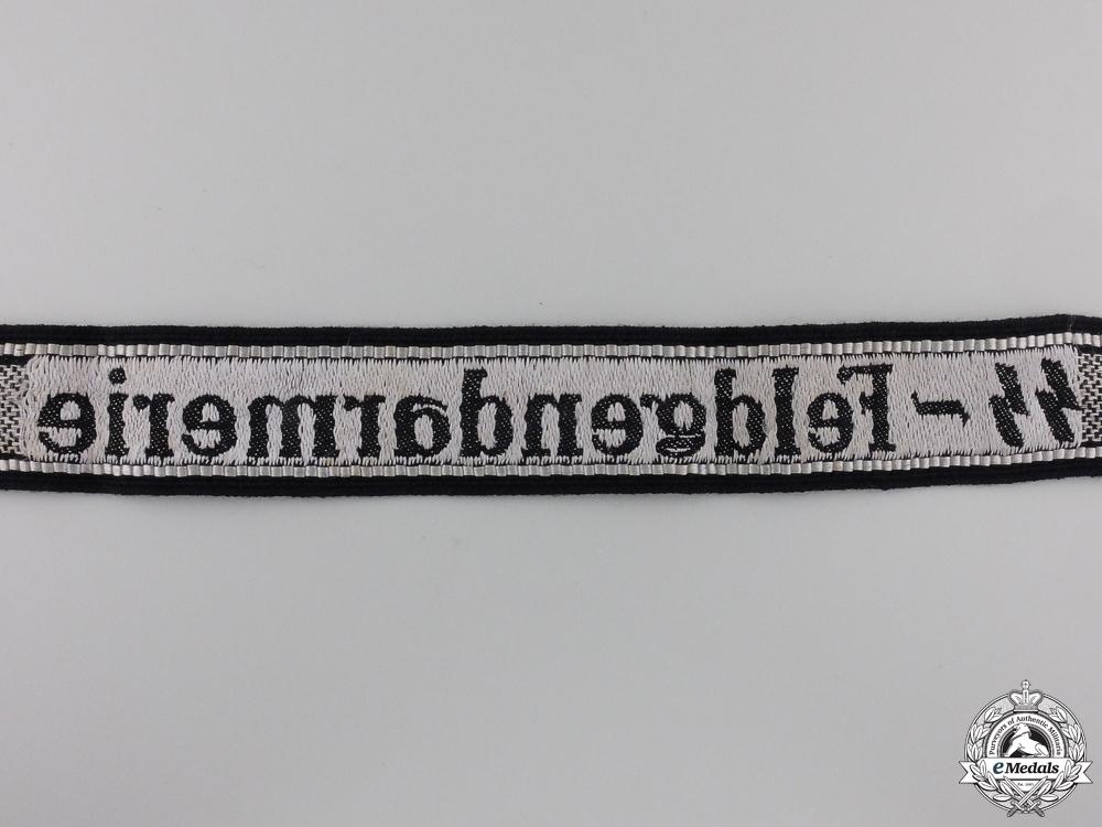 "A Waffen-SS Cufftitle for Enlisted ""SS-Feldgendarmerie"""