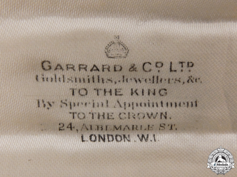 A Most Noble Order of the Garter in Gold by Garrard & Co.