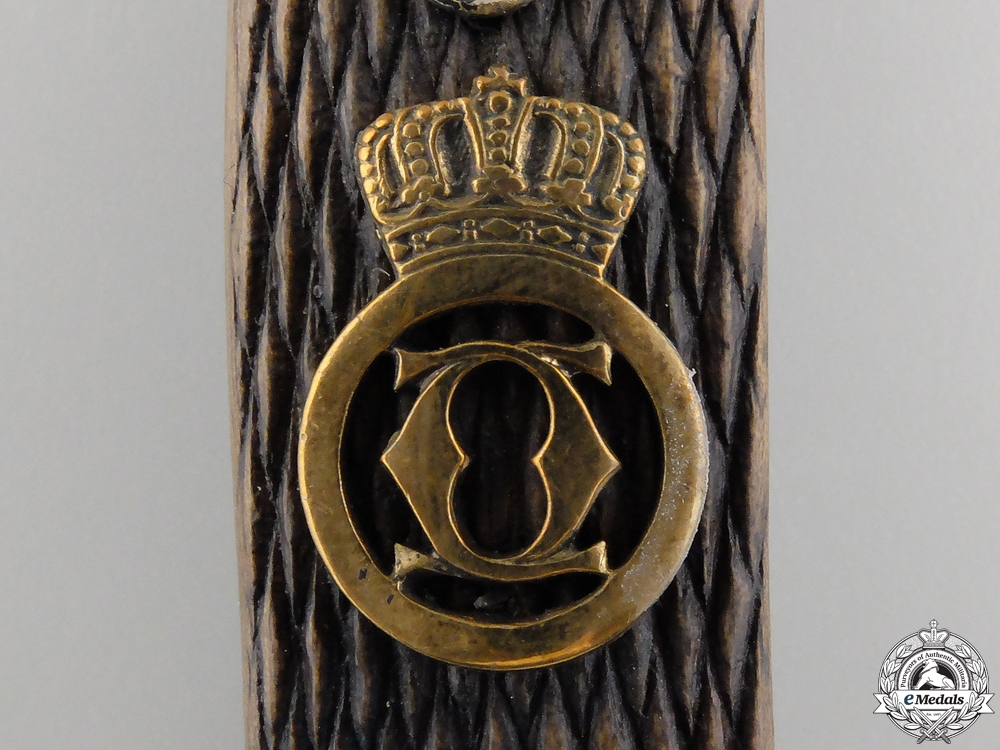 A German Made Romanian Second War Army Officer's Dagger