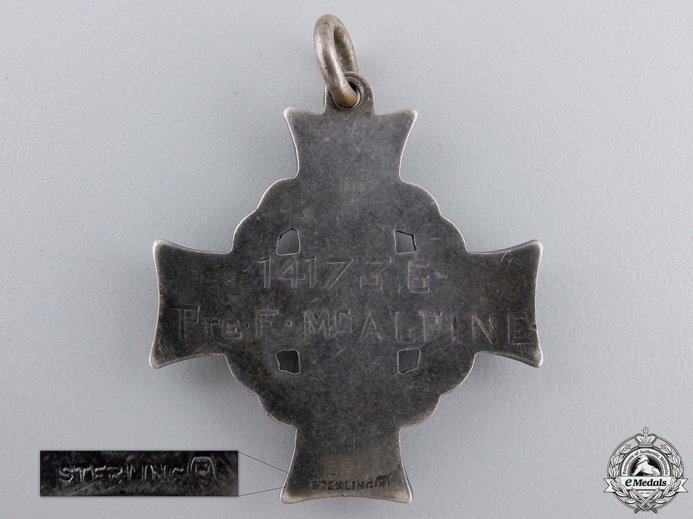 A First War Memorial Cross to the 76th Canadian Infantry Battalion