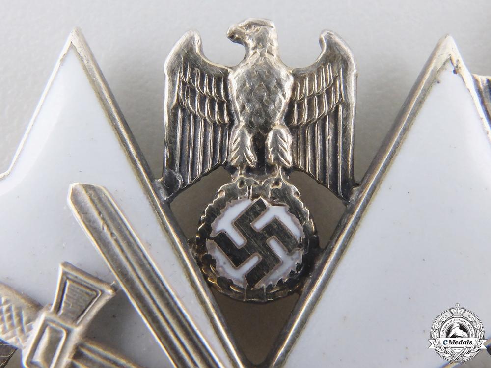A German Eagle Order; Third Class by Gebrüder Godet