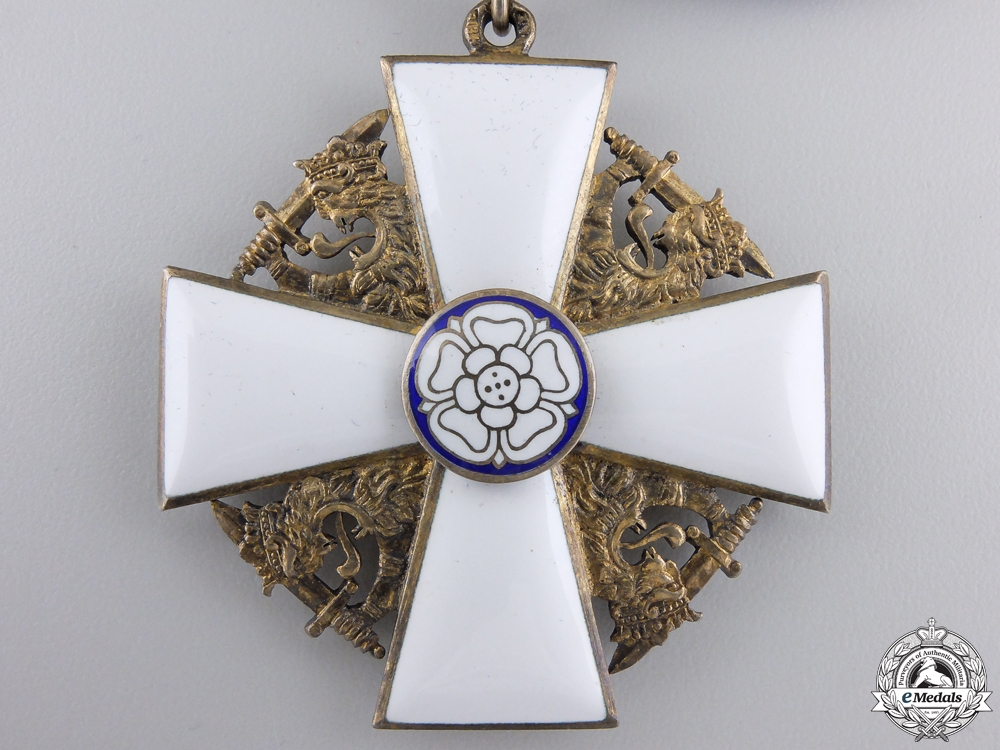 Finland. An Order of the White Rose, Commander's Cross, by A.Tillander