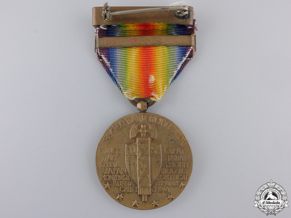 A First War American Victory Medal; Asiatic Clasp