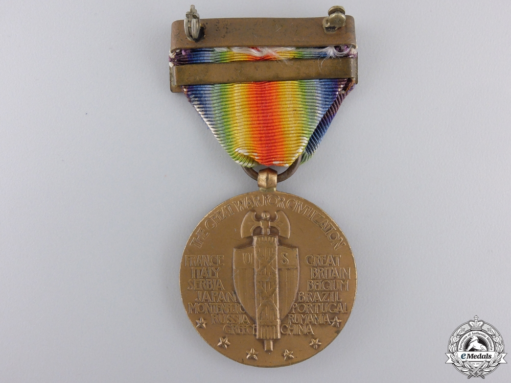 A First War American Victory Medal; Destroyer Clasp