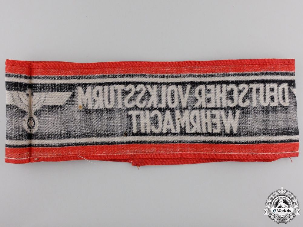 A German Volkssturm Armband