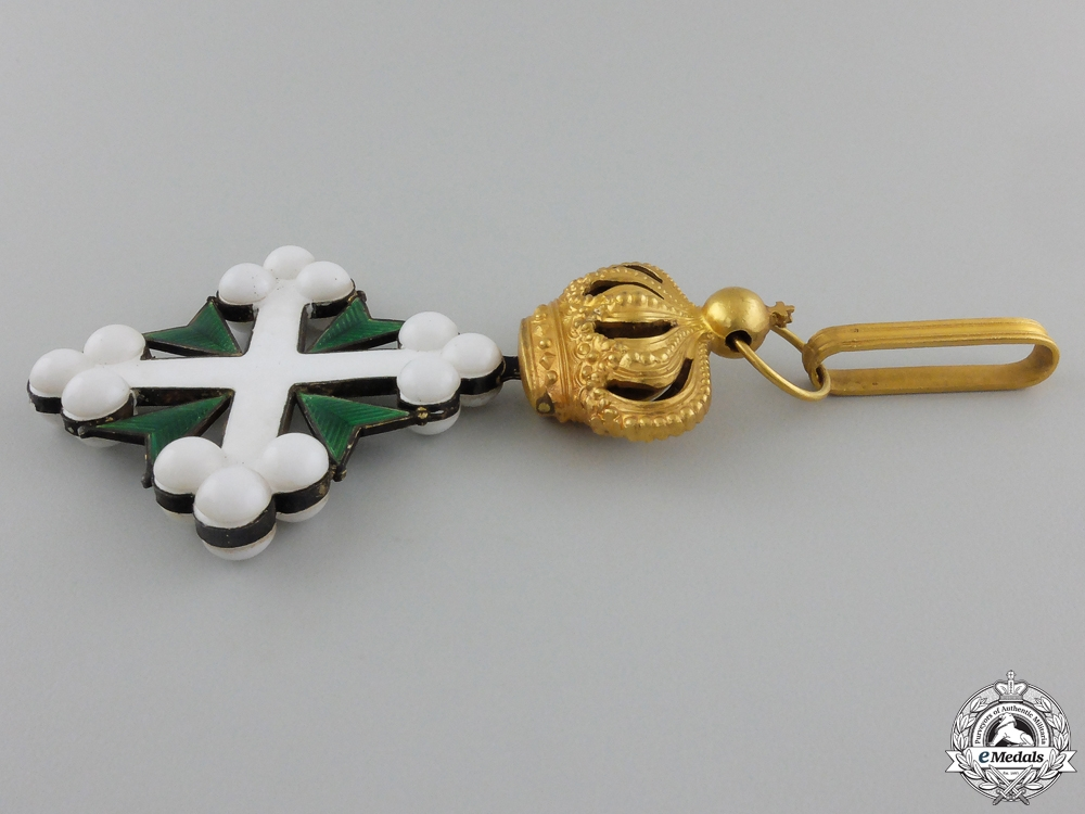 An Italian Order of St.Maurice & St.Lazarus; Grand Officer's Set
