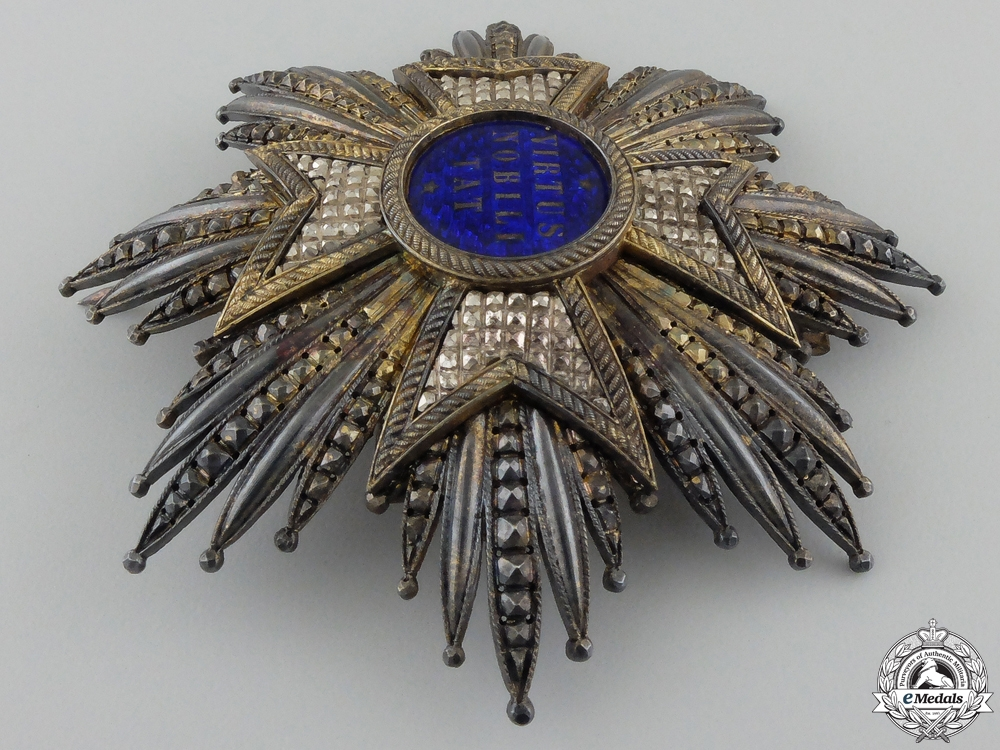 An Order of the Netherlands Lion; Fine Grand Cross Star by Briquet Setr
