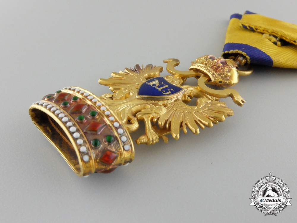 An Austrian Order of the Iron Crown in Gold by Rothe
