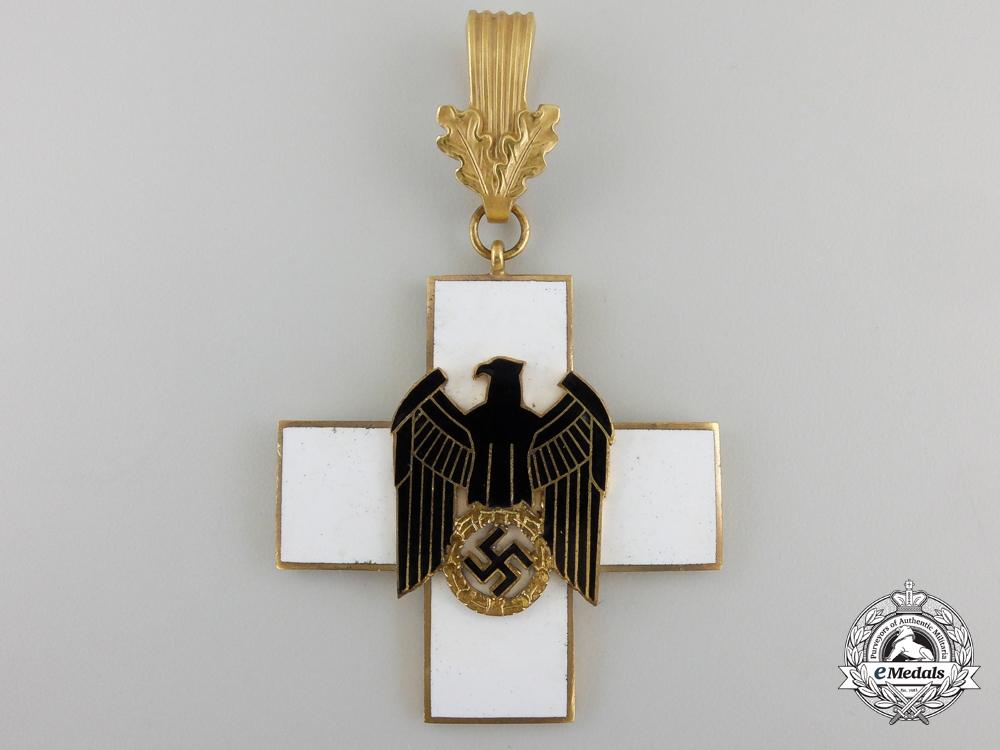 A German Social Welfare Decoration; First Class by Godet & Co.