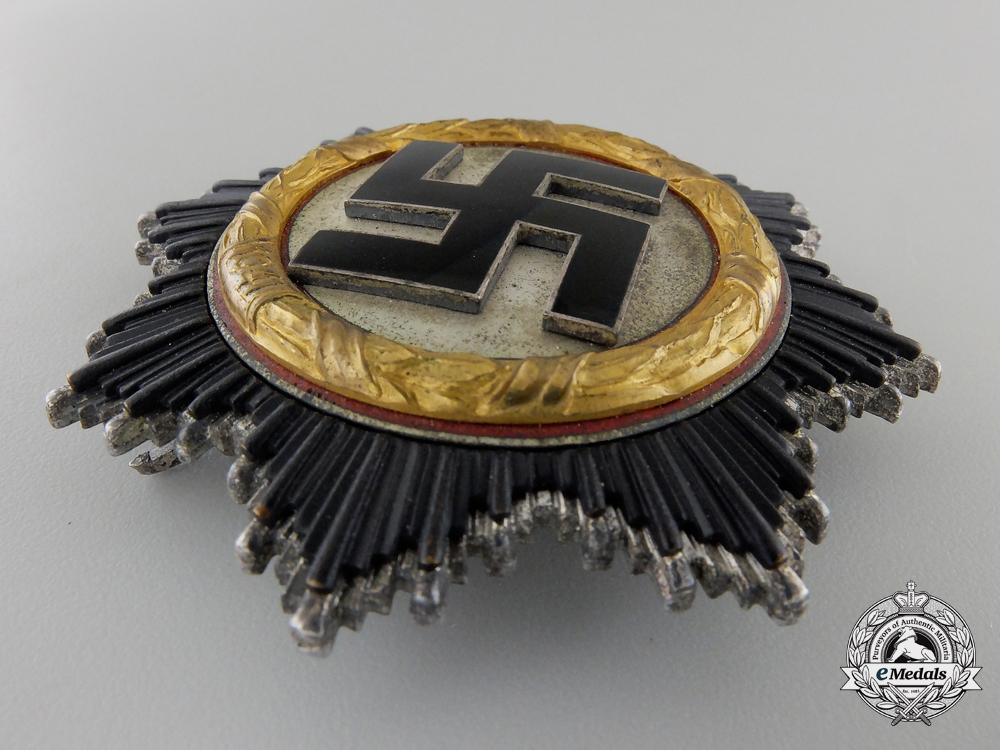A German Cross in Gold by Zimmermann: Light version