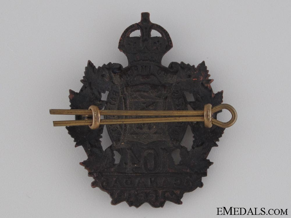 WWI 104th Infantry Battalion Cap Badge CEF