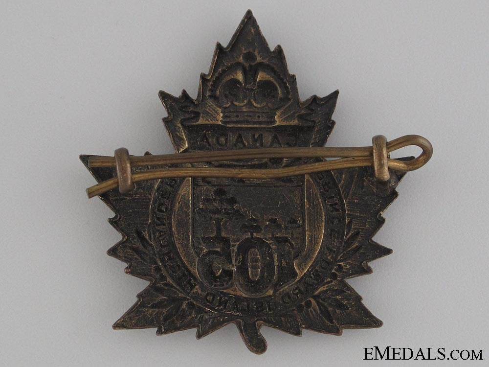 WWI 105th Infantry Battalion Cap Badge CEF