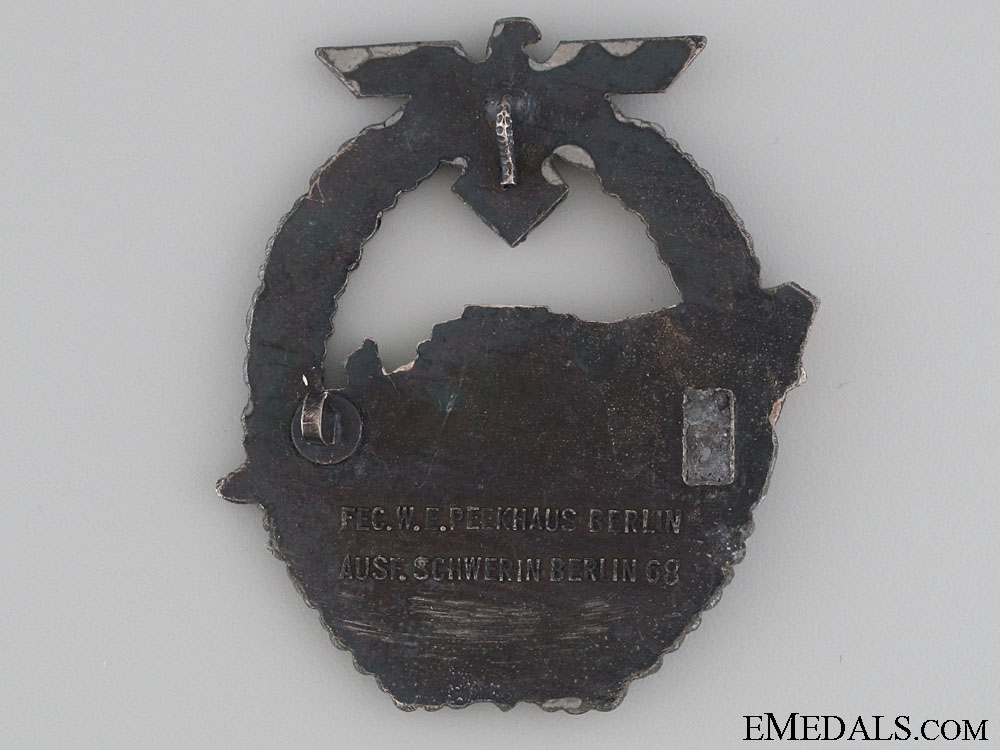 2nd Pattern E-Boat Badge by Schwerin