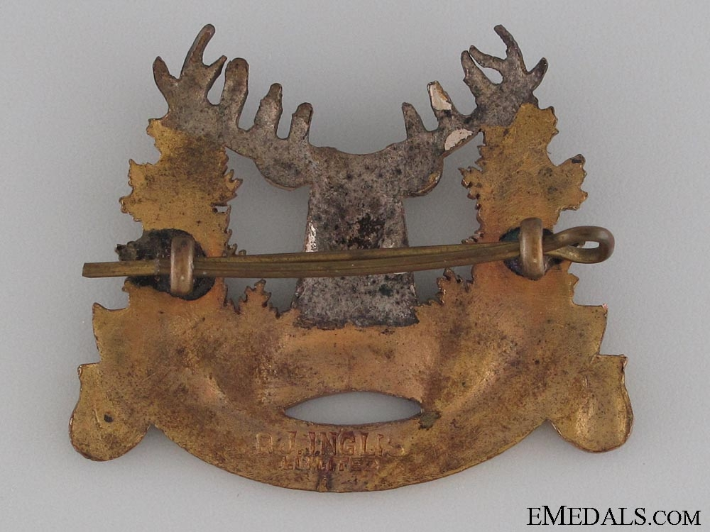 107th East Kootenay Regiment Cap Badge CEF