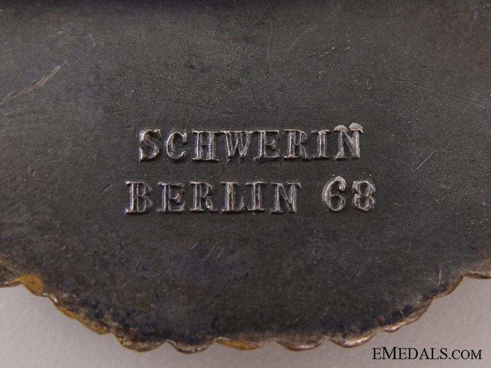 An Early War Destroyer War Badge by Schwerin, Berlin