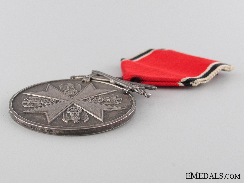 The Order of the German Eagle Medal; Silver Merit Medal