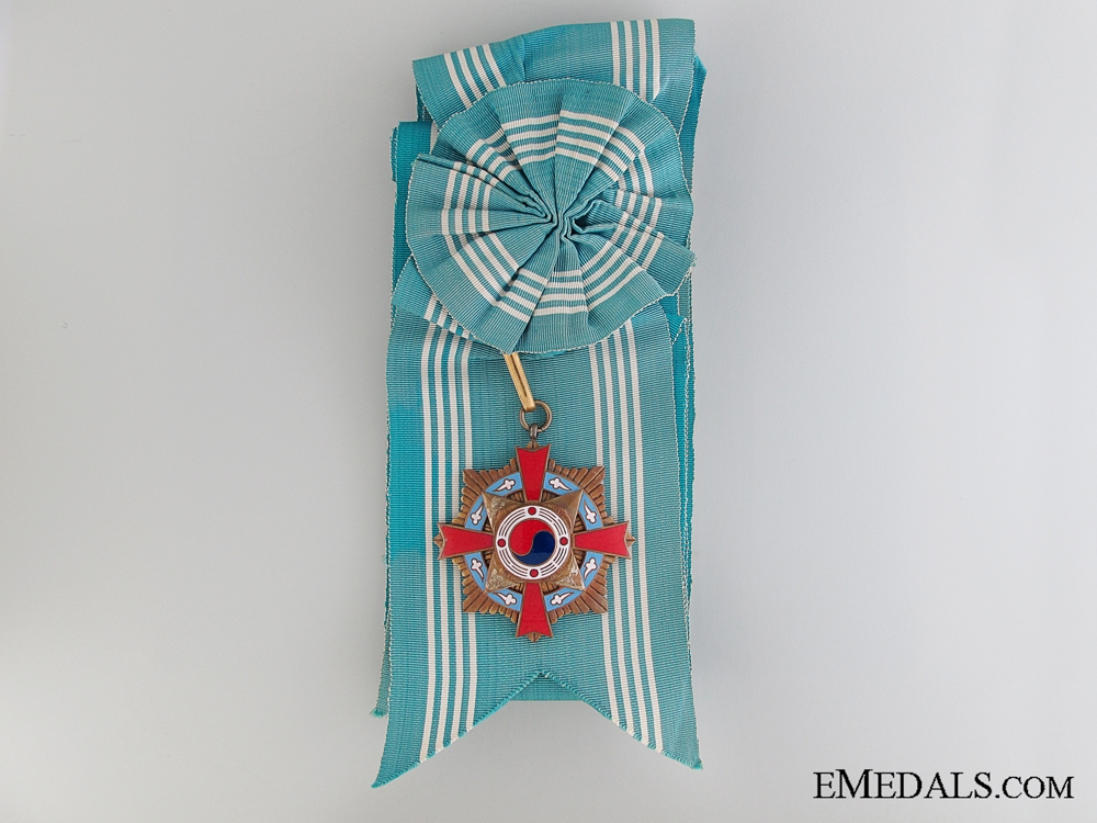 The Order of Military Merit: 1st Class Set (Taeguk)