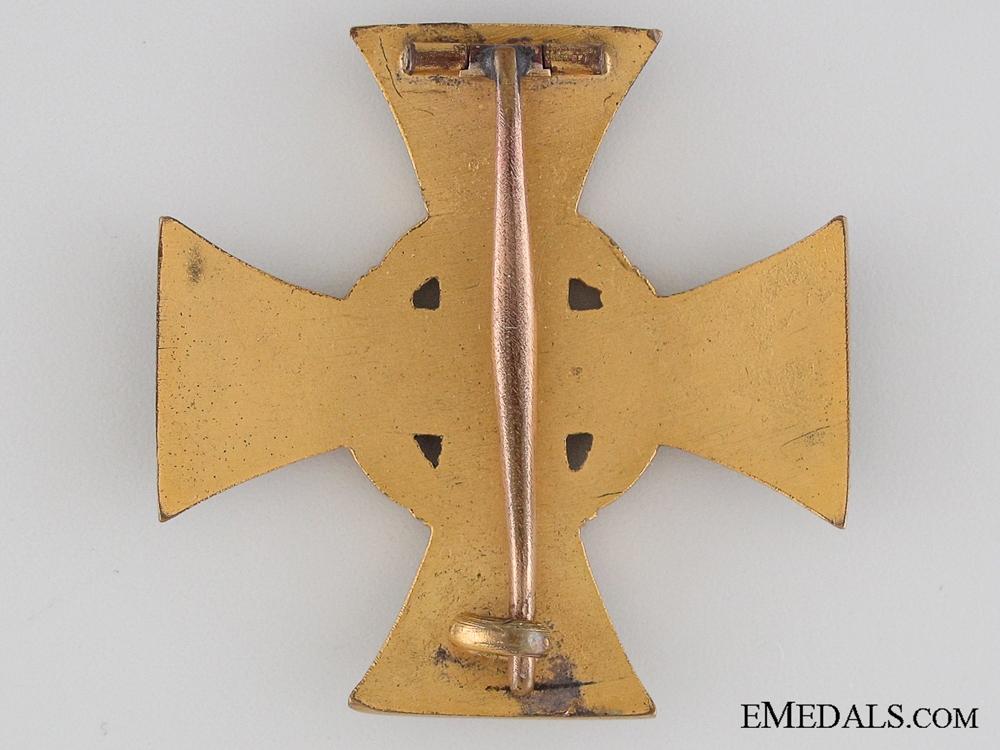 A 1914 Lippe-Detmold War Merit Cross First Class with Case