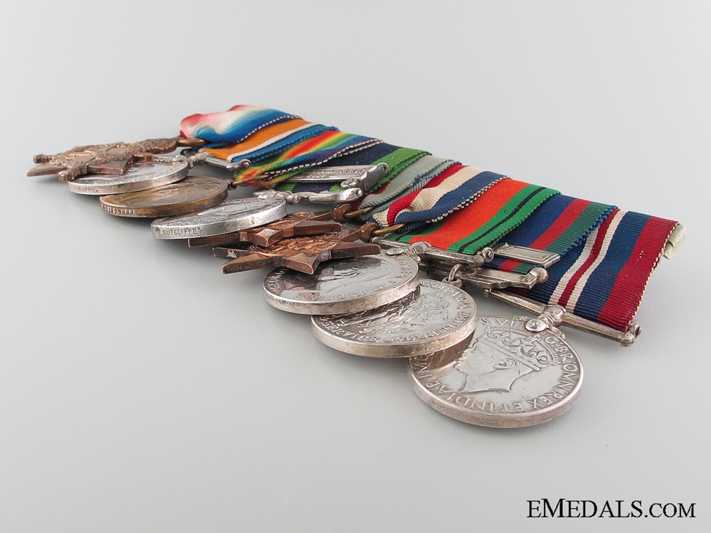 A First War & India Service Group to the West Riding Regiment