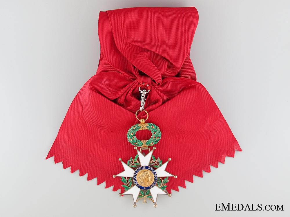 A Fifth Republic Legion D'Honneur Grand Cross