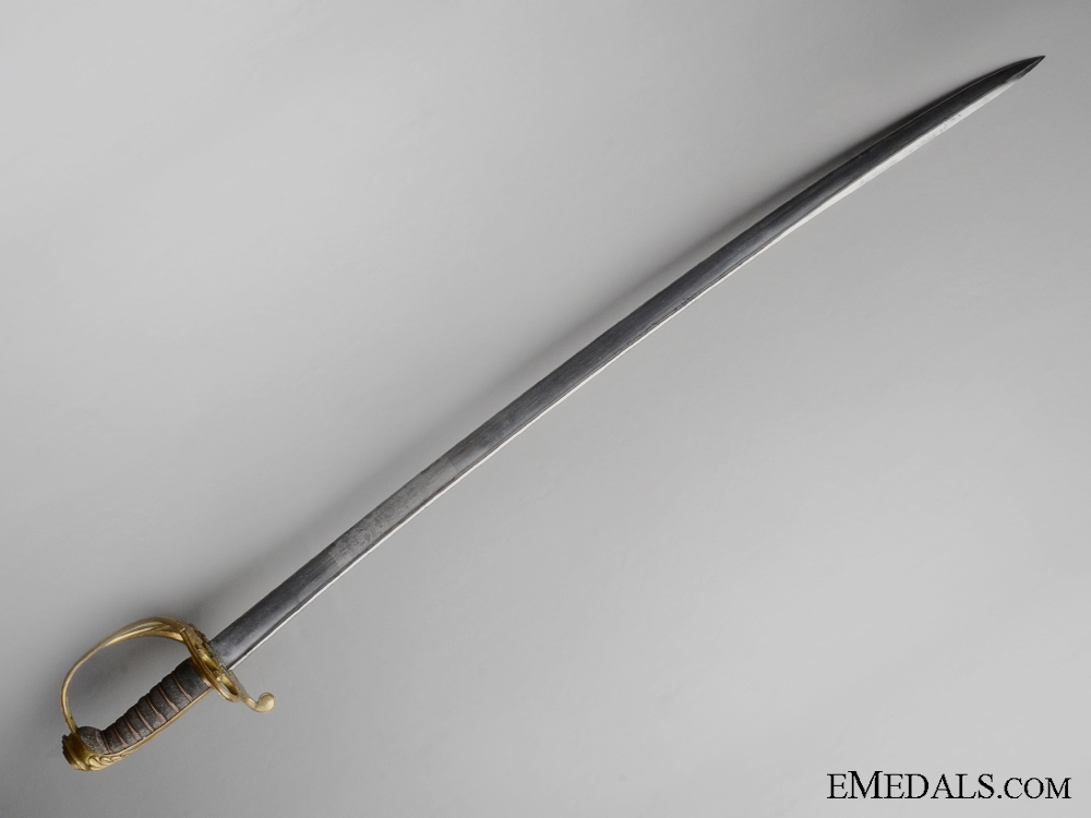 An 1821 Pattern Light Cavalry Trooper's Sabre
