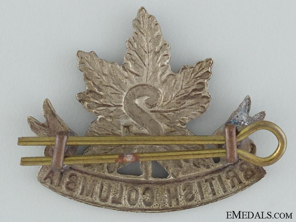 WWI 2nd British Columbia Infantry Collar Badge CEF