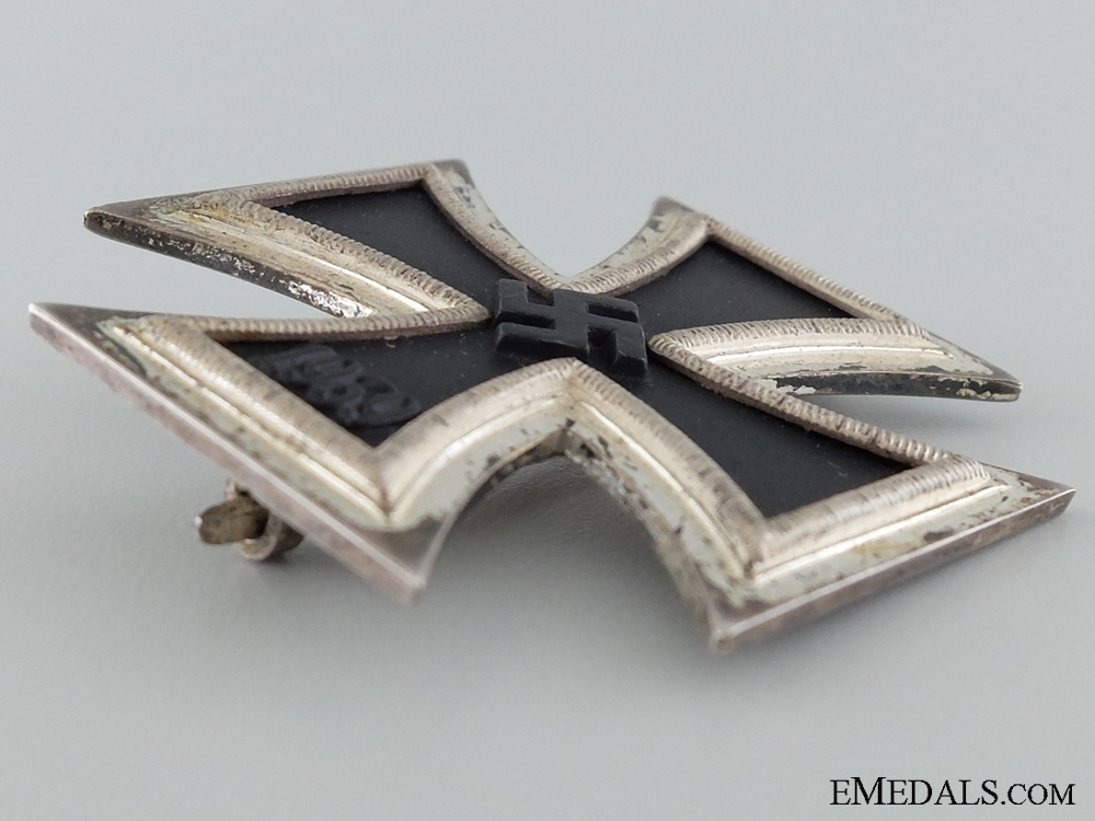 1939 First Class Iron Cross; Marked 100; Cased