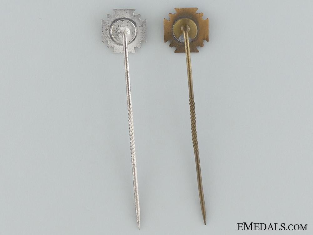 NSDAP Long Service Miniature Awards