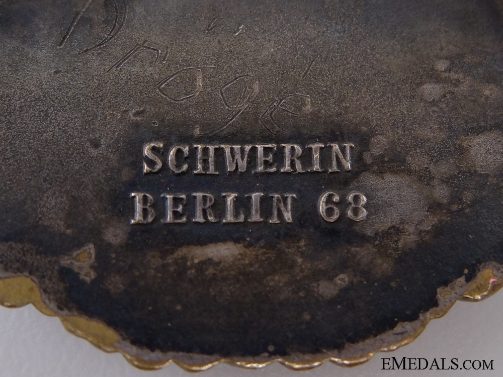An Early Destroyer War Badge by Schwerin, Berlin